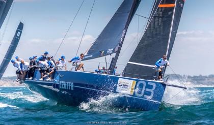 Azzurra nuevo líder de la Puerto Sherry 52 SUPER SERIES Royal Cup
