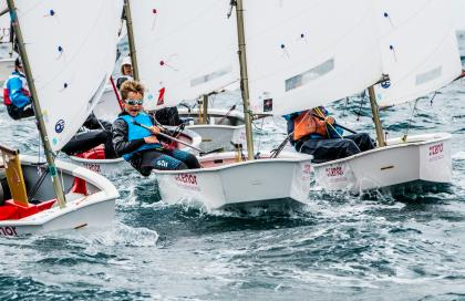 Baiona corona a los nuevos campeones de España de Optimist