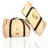 Bolsos, carteras, cinturones realizados con velas usadas