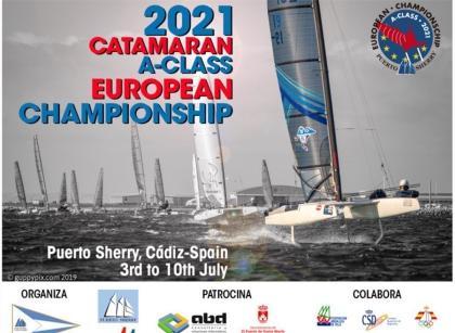 Campeonato de Europa de Catamarán Clase A en Puerto Sherry