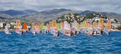 Celebrado el Campeonato de Andalucía de Windsurf