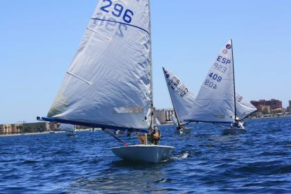 Celebrados los Campeonatos de Andalucía de Europa y Finn