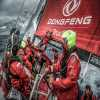 Dongfeng Race Team rompe la pala del timon
