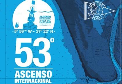 El 53º Ascenso internacional a vela del Guadalquivir abre inscripciones