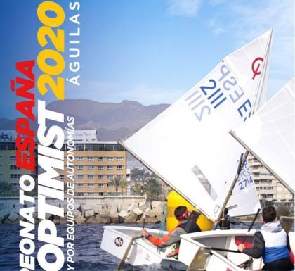 El Campeonato de España de Optimist en aguas de Águilas