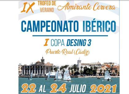 El Campeonato Ibérico de Optimist, IX Trofeo de Verano Almirante Cervera
