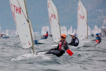 El Campeonato Mundial Optimist 2021 en Riva del Garda