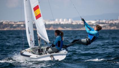 El Campeonato Mundial de Villamoura marcado por el viento
