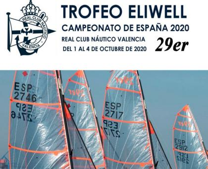 El cto de España 29er, Trofeo Eliwell con cerca de 20 barcos