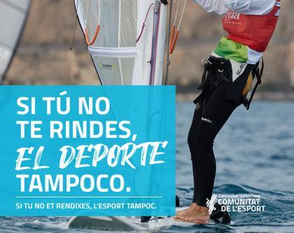 El deporte es salud, reivindicación para la Generalitat Valenciana