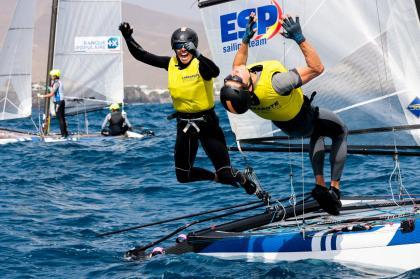 El ESP Sailing Team arrasa en Lanzarote