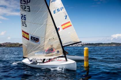 El europeo de Finn con España en puestos de podio