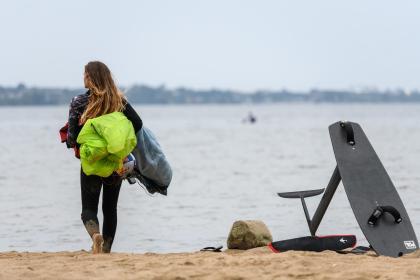 El Europeo Mixto de Formula Kite se echa al agua