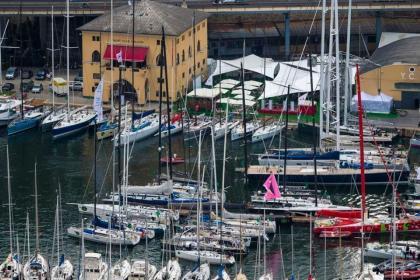 El Italia Sailing Team en The Ocean Race 2022-23
