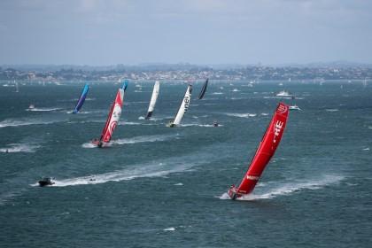 El MAPFRE lidera la flota de la Volvo Ocean Race