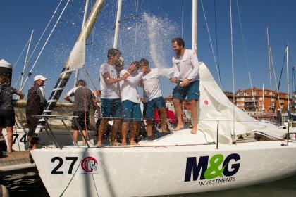 El M&G Tressis se lleva el Mundial J80 de Getxo