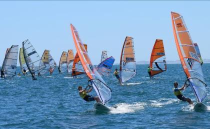 Celebrado el nacional Windsurf & Iqfoil Juvenil 2021 en Santa Pola