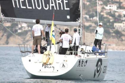 El viento decide los campeones del 32º Trofeo Peñón de Ifach