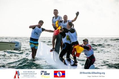 España gana ocho medallas en el campeonato del mundo de 420