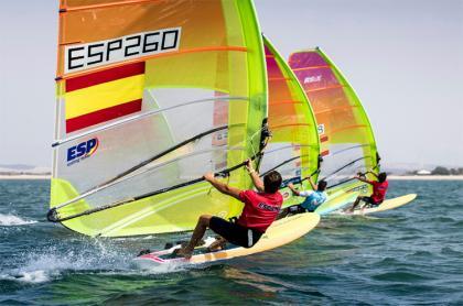 Estreno del Europeo de RS:X con el ESP Sailing Team en el Top10