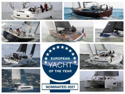 European Yacht of the Year 2021 de crucero familiar y altura