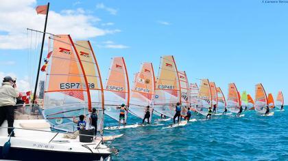 Exito de organización del Campeonato de Andalucía de Windsurf