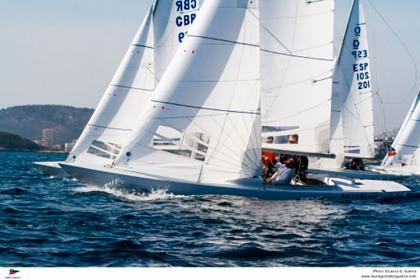 La Copa del Mediterráneo de la clase Dragon para el Meerblick