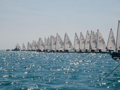 La Copa Retro ILCA Master-Circuito Mar de Alborán celebrada