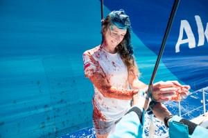 La flota de la Volvo Ocean Race alcanza por fin los alisios