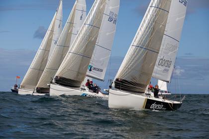 La I International Women's Sailing Cup para el Dorsia