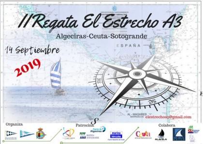 La II Regata El Estrecho A 3 para Ceuta Sí