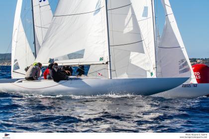 La IV Copa del Mediterráneo de la clase Dragon en Puerto Portals