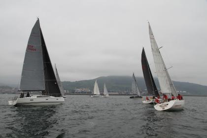 La Regata Mar de Maeloc ya está rumbo a Coruña desde Getxo