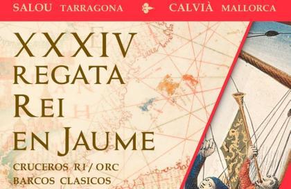 La Regata Rei en Jaume mantiene sus fechas previstas