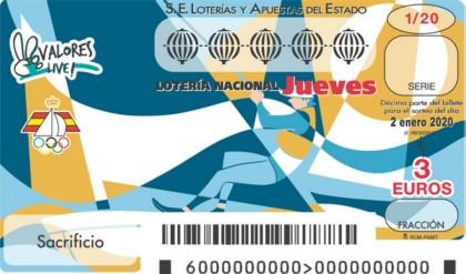 La Vela en la Lotería Nacional