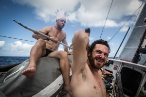 La Volvo Ocean Race volvió a su particular guerra