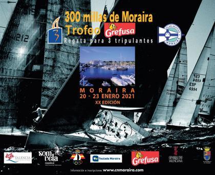 Las 300 Millas A3 Moraira-Trofeo Grefusa se aplaza