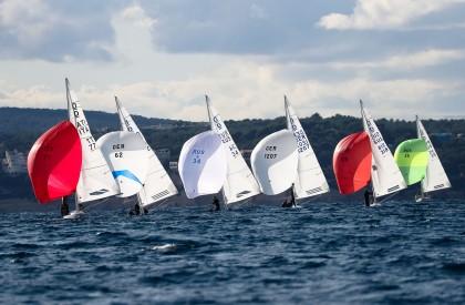 Las III Puerto Portals Winter Series de la clase Dragon celebrada