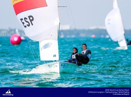 Las tripulaciones españolas se suben al podio de la World Cup