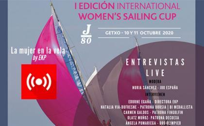 Llega al Abra la I International Women's Sailing Cup