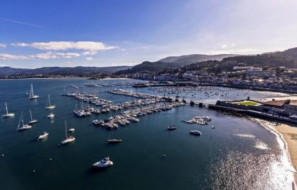 Los cursos de la Royal Yachting Association en Baiona