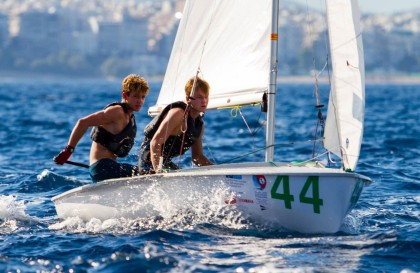 Martín Wizner y Pedro Ameneiro, campeones de Europa de 420