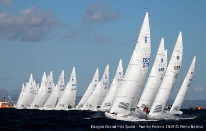 Máxima igualdad en el Puerto Portals Dragon Grand Prix