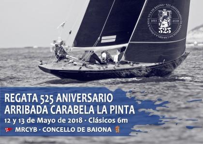 Presentación Regata 525 Aniversario Arribada Carabela Pinta