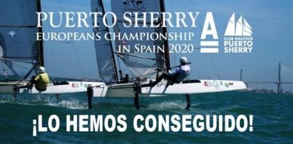 Puerto Sherry acogerá el Cto de Europa de Catamarán Clase A