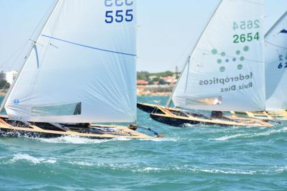 Quinta entrega de la Liga de Patín a Vela en Cádiz