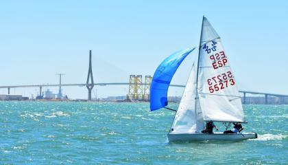 Regresa la competición de alto nivel a la bahía de Cádiz