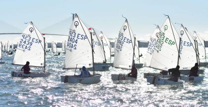 Representación andaluza para el Campeonato de Optimist 2021