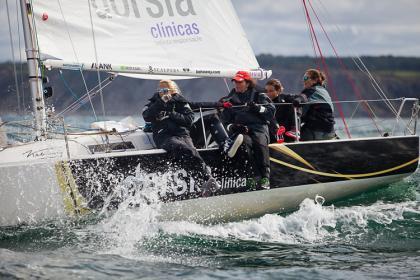 Temporada 2021 Equipo de Vela Femenino Dorsia Sailing Team