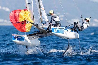 Tokio 2020: Diploma Olímpico para Tara Pacheco y Florian Trittel